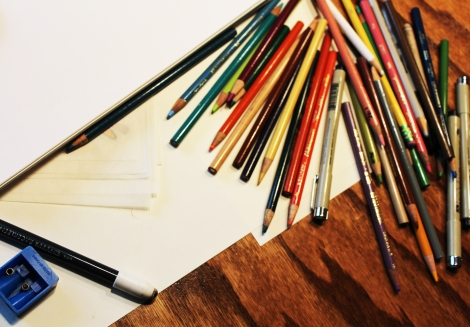 pencil pile